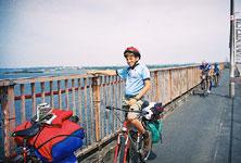 На мосту в Дании
