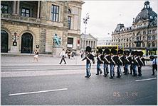 Королевские гвардейцы в Копенгагене