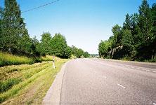 Дорога в Швеции