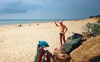 Отдых на берегу океана