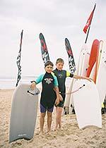 Молодые покорители океанских волн