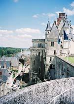 Вид из королевского замка в Амбуазе